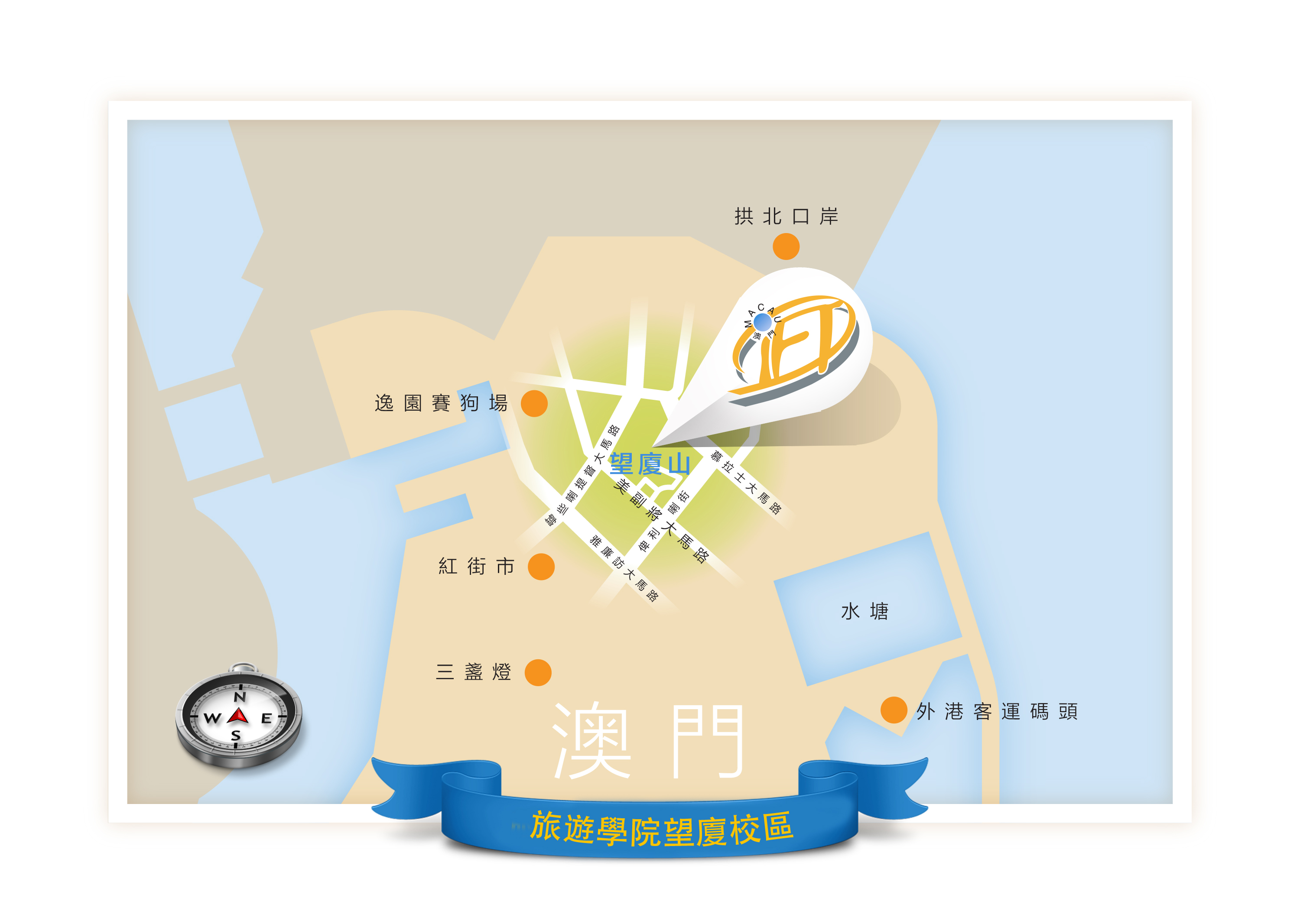 1c) Map to indicate where Macau IFT locates copy