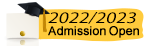 2020/2021 admission open